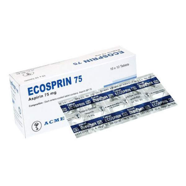 buy ecosprin 75mg